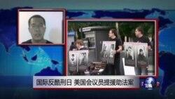 VOA连线:国际反酷刑日,美国会议员提援助法案