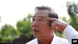 Ông Phạm Thành Công, cựu Giám đốc Ban Quản lý khu di tích Sơn Mỹ.
