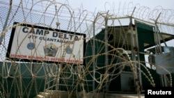 نمای بیرونی بازداشتگاه گوانتانامو