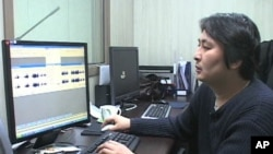 Scene inside Free North Korea Radio