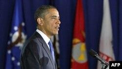 Obraćajući se američkim veteranima, predsednik Obama je pozdravio izveštaj o zapošljavanju ali i primetio da je potreban veći rast.