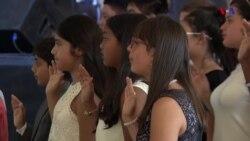 Crianças adquirem a nacionalidade americana