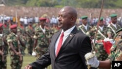 Pierre Nkurunzinza, président du Burundi (AP)