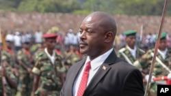 Pierre Nkrunziza, président du Burundi (AP Photo/Berthier Mugiraneza)