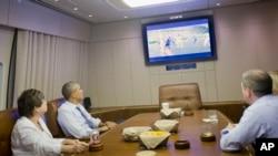 Американскиот претседател Барак Обама го следи натпреварот САД- Германија