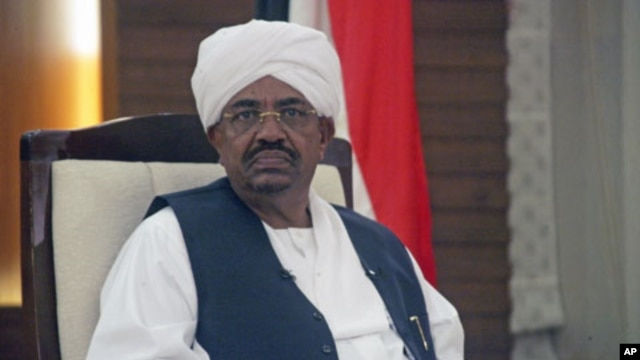 Sudan's President Omar Hassan al-Bashir said tensions with South Sudan over oil transit payments could lead to war between the two countries during an interview with state TV, in Khartoum, February 3, 2012.