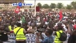 VOA60 AFIRKA: Yajin Aiki a Burkina Faso, Afrilu 9, 2015