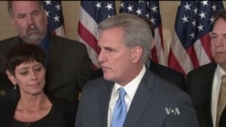 McCarthy: US House Republicans Need Fresh Face
