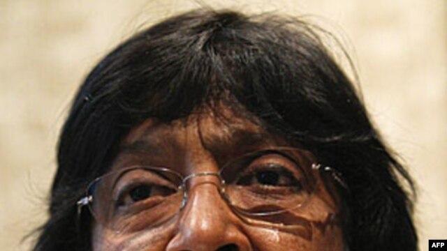 Cao ủy trưởng nhân quyền LHQ, bà Navi Pillay