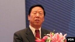 前中國人民銀行行長、現任社保基金理事會理事長戴相龍 (資料照片)