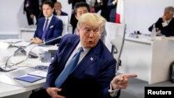 Predsednik SAD Donald Tramp na samitu Grupe 7 u Bijaricu u Francuskoj ovog leta (Foto: Reuters/Andrew Harnik/Pool)
