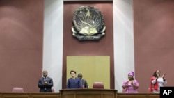 Assembleia Nacional de Angola recebe presidente Dilma Rousseff do Brasil