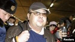 Tư liệu- Ông Kim Jong Nam tại sân bay Bắc Kinh, ngày 11 tháng 12 năm 2007.
