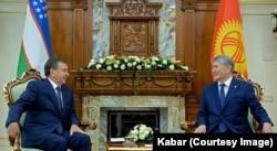 Atambayev va Mirziyoyev, Ostona, dekabr, 2016