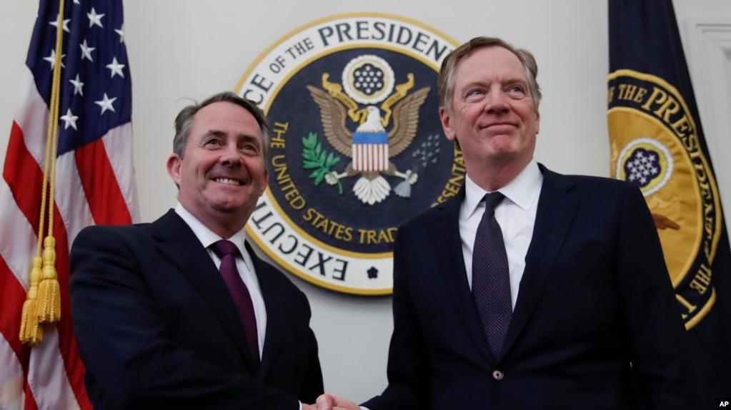白宫宣布将与英、日及欧盟分别举行贸易谈判
