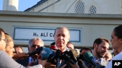 Prezidan Tik la, Recep Tayyip Erdorgan