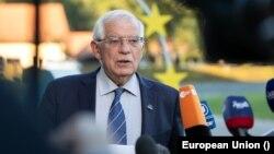 Đại diện cấp cao của EU về Đối ngoại và Chính sách An ninh Josep Borrell (ảnh tư liệu, 2-3/9/2021).