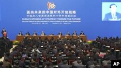 中國國家主席胡錦濤出席中國加入世界貿易組織十週年高層論壇
