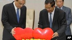 Thủ tướng Trung Quốc Lý Khắc Cường tại Campuchia.