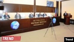 """""""Azərbaycan media məkanı: mövcud durum və perspektiv vəzifələr"""" mövzusunda tədbir"""