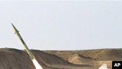 이란의 단거리 미사일 실험 (자료사진)