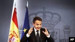西班牙首相萨帕特罗(资料照)
