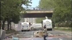 درگيری پليس ترکيه با تظاهرکنندگان روز کارگر
