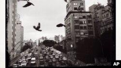 En Sao Paulo, el congestionamiento vial es uno de los principales problemas de la ciudad. Los accidentes de tránsito son un mal común.