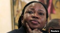 La procureure en chef de la CPI, Fatou Bensouda (archives)
