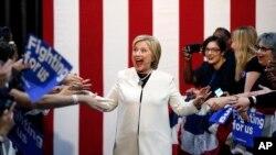 Ứng viên tổng thống của đảng Dân chủ Hillary Clinton tại Miami, ngày 1/3/2016.