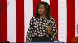 Michelle Obama: 'We Want a President Who Takes This Job Seriously'