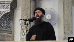 Lider Islamske države Abu Bakr al-Bagdadi