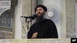 Лидер «Исламского государства» Абу Бакр аль-Багдади (архивное фото)