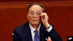 中国国家副主席王岐山 (资料照片)