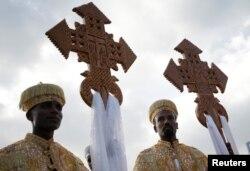 Священники ефіопської православної церкви