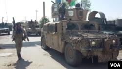نیروهای امنیتی در کندوز (عکس از آرشیف)