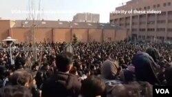 Bểu tình chống chính phủ lan rộng ở Iran sau khi nhiều người bị bắt bớ vì phản đối vụ bắn rơi máy bay của HHK Ukraine.