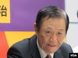 亚太和平基金会董事长 赵春山(VOA记者张永泰拍摄)