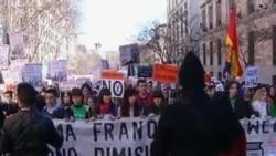 Protestas y denuncias en España