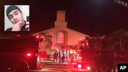 El centro islámico al que asistía Omar Mateen, resultó dañado en el incendio.