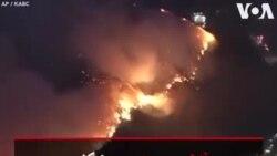 آتش سوزی جنگلی باعث تخلیه ساکنان چندین منطقه در لس آنجلس شده است