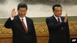中國新一代領導人習近平、李克強