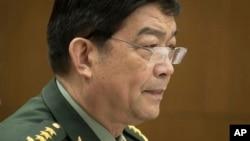 창완취안 중국 국방부장 (자료사진)
