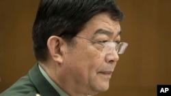 Menteri Pertahanan China Chang Wanquan