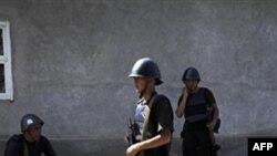 Oş şəhərində polis reydi nəticəsində 4 yaraqlı öldürülüb