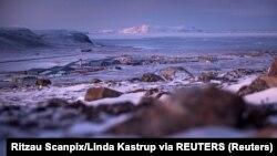 Pogled na američku vojnu bazu Tule na severu Grenlanda