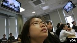 Hay 157.000 estudiantes chinos cursando enseñanza superior en EE.UU.