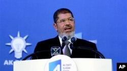 무함마드 무르시 이집트 대통령 (자료 사진)
