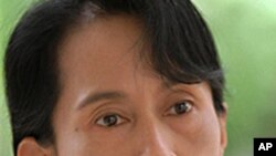 Burmese political prisoner and opposition leader Aung San Suu Kyi. (file)