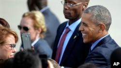 El presidente Barack Obama reconoció y felicitó al pueblo colombiano por su resistencia.